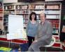Pressentació llibre Nil, amb l'escriptor Jaume Cela i líl.lustradora Alba Garcia a la Llibreria Éfora -Cerdanyola